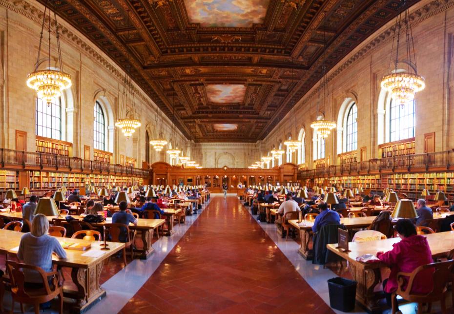 Публичная Библиотека Нью-Йорка free 1