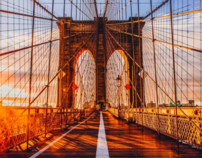Бруклинский_мост_нью-йорк