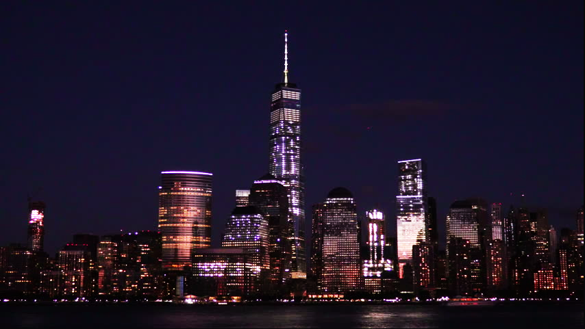 Манхеттен_в ночи