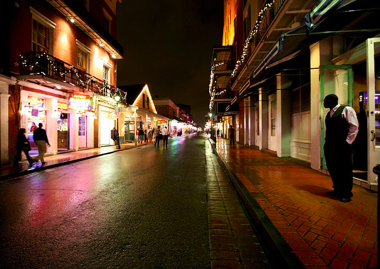 Бурбон Стрит Новый Орлеан free 6