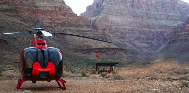 Вертолетная экскурсия на Гранд Каньон 22