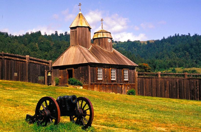 экскурсия в форт росс - крепость форт росс