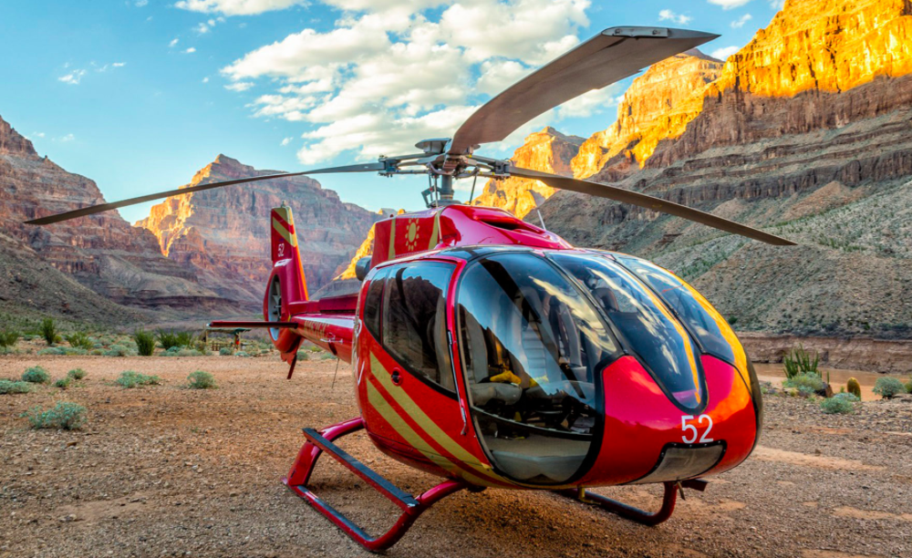 вертолетные экскурсии на Гранд Каньон из Лас-Вегаса
