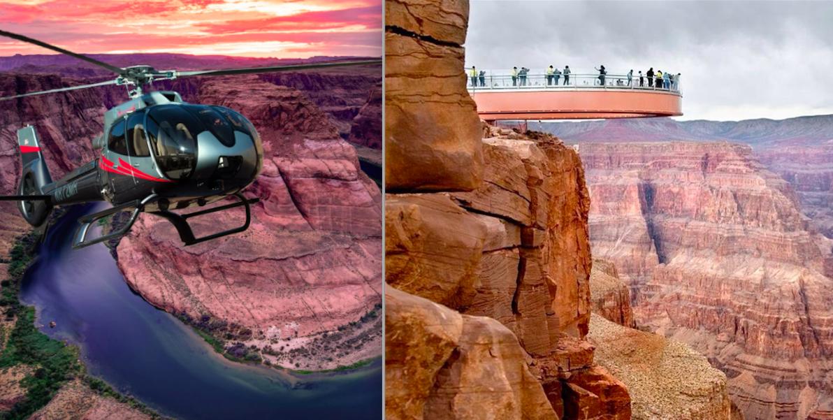 вертолетные туры на гранд каньон