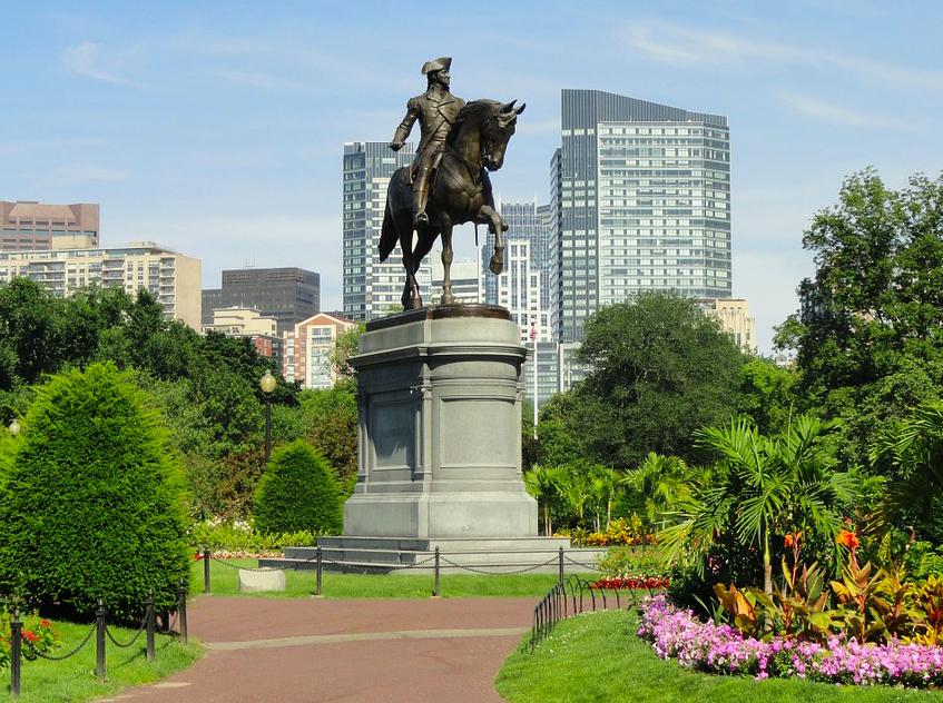 Бостон Коммон парк free 1