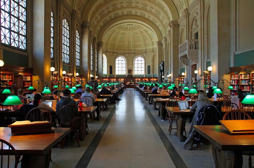 Бостонская Публичная Библиотека free 1