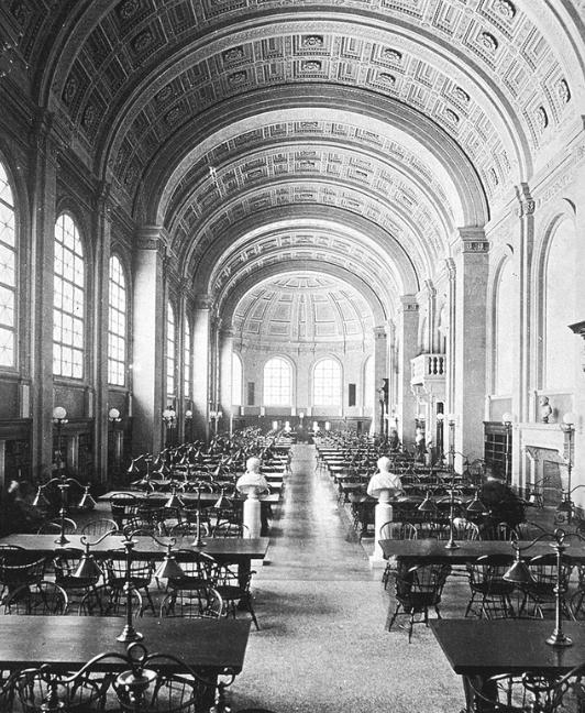 Бостонская Публичная Библиотека free 3