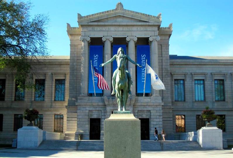 Бостонский Музей Изящных Искусств 1