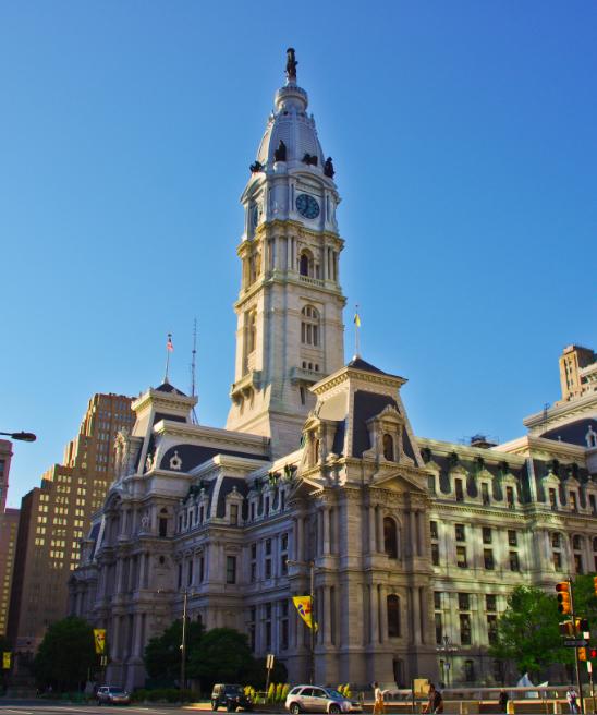 Городская ратуша Филадельфии free 8