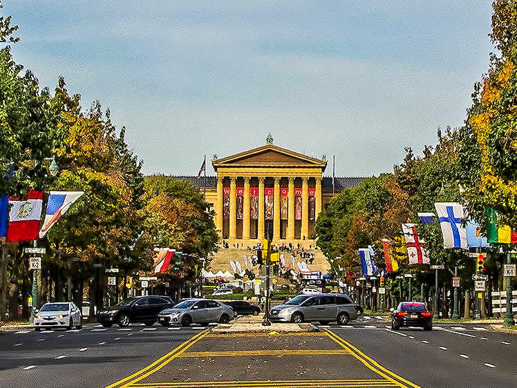 Художественный Музей Филадельфии free 3
