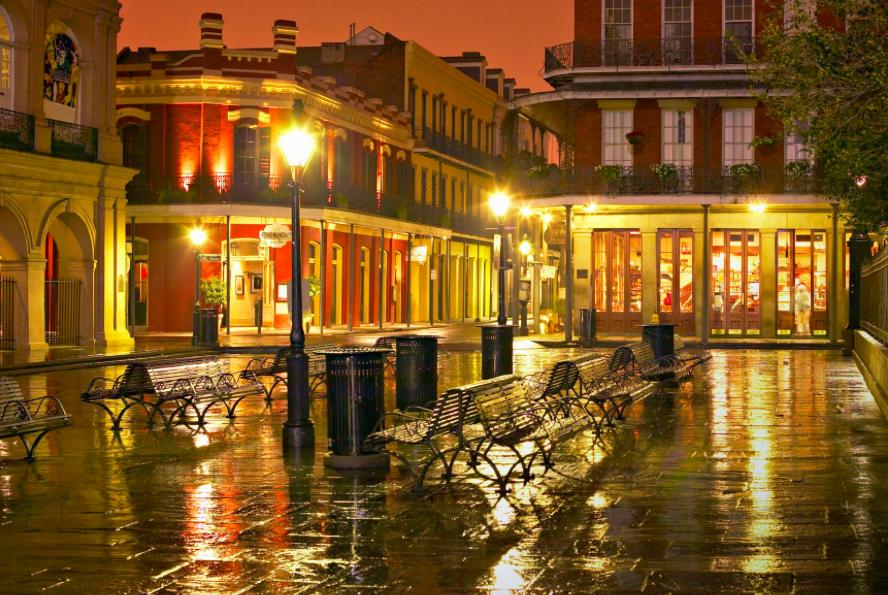 Экскурсия по вечернему Новому Орлеану 33