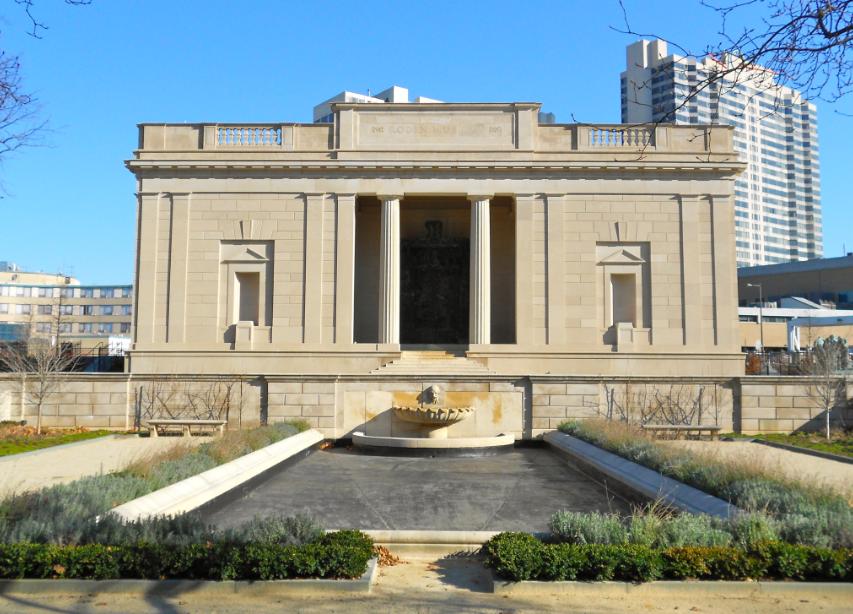Музей Родена в Филадельфии free 2