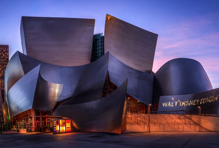 Концертный Зал Диснея - Лос-Анджелес 1