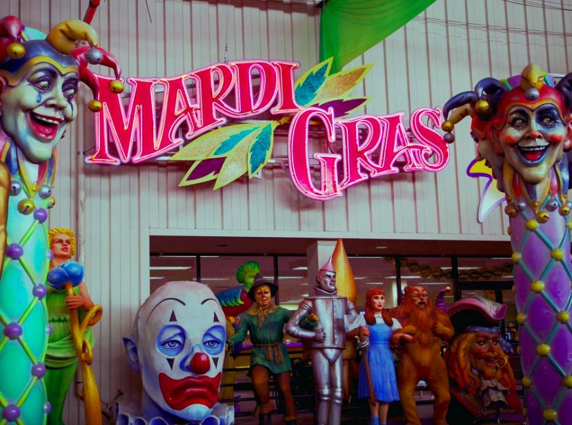 Мир Марди Гра - Новый Орлеан 1
