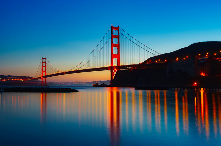 Мост Золотые Ворота Free 3