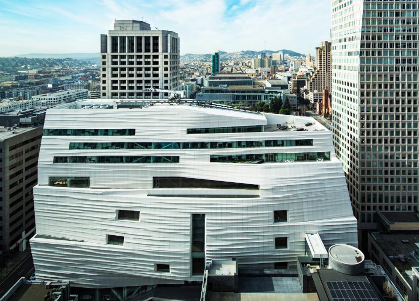Музей Современного Искусства Сан-Франциско 1