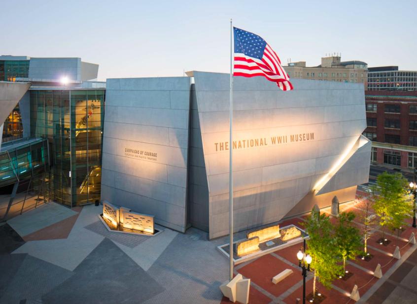 Музей Второй Мировой Войны Нового Орлеана 1