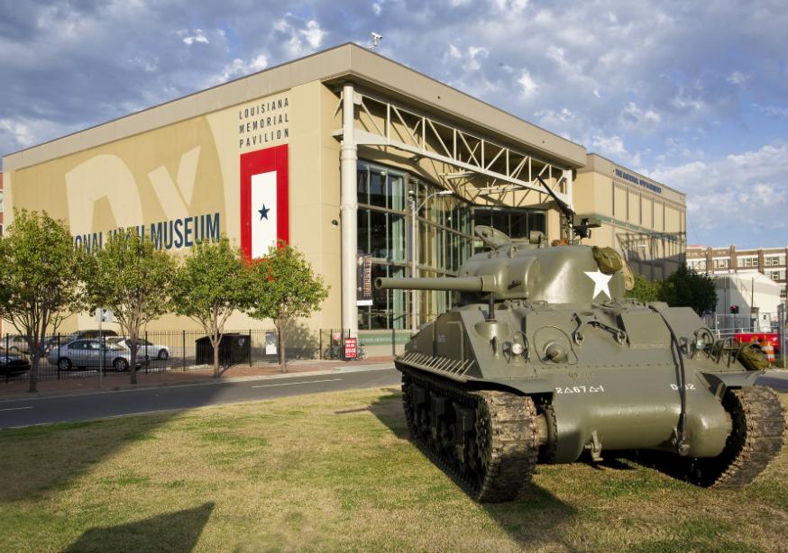 Музей Второй Мировой Войны Нового Орлеана 2