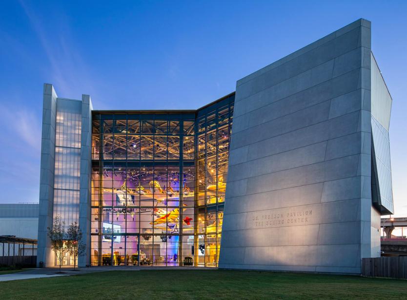 Музей Второй Мировой Войны Нового Орлеана 3