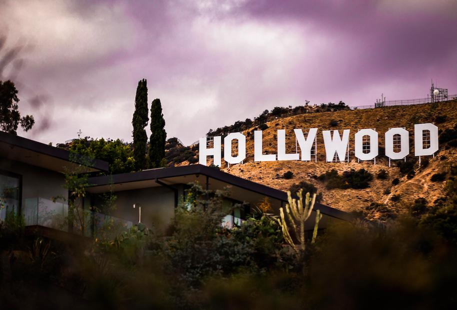 Надпись Голливуд free 1