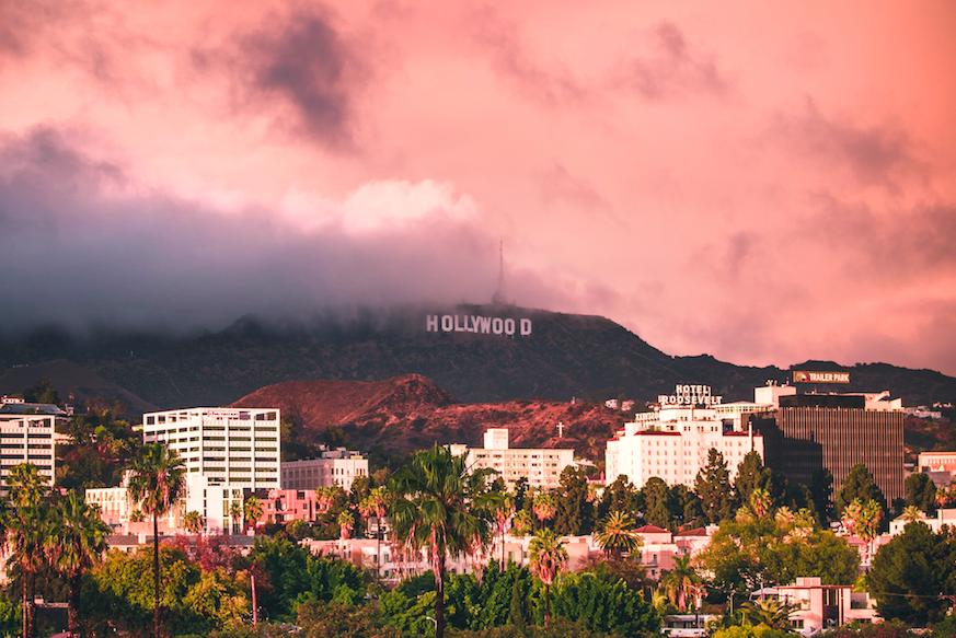 Надпись Голливуд free 2