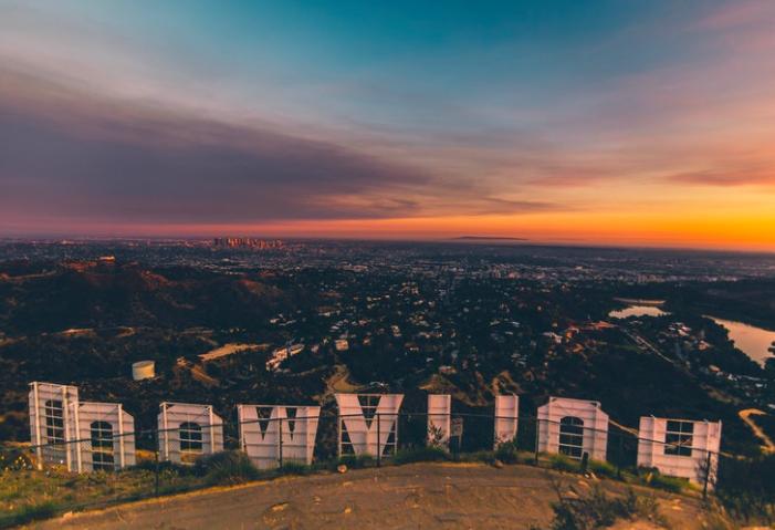 Надпись Голливуд free 3