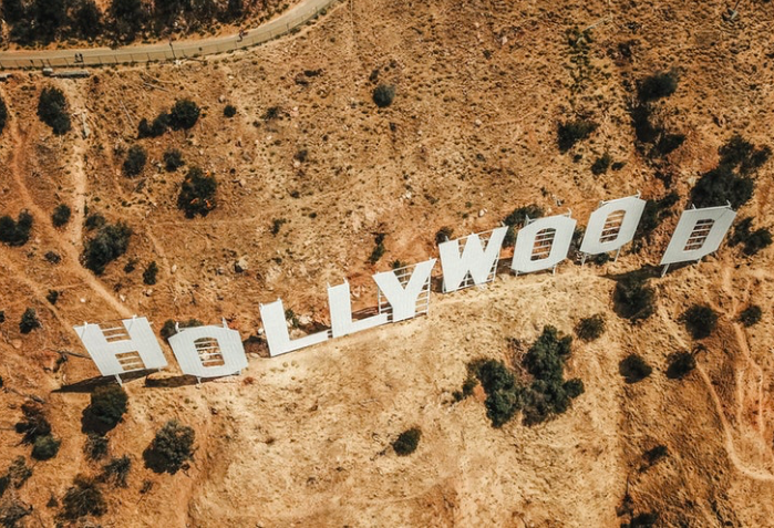 Надпись Голливуд free 5