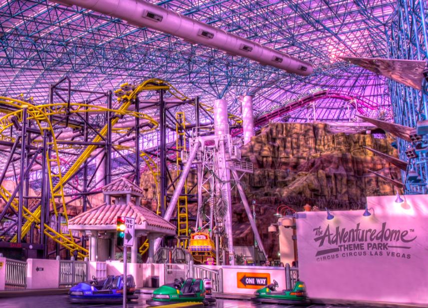 Парк Адвенчердом Лас-Вегас 1