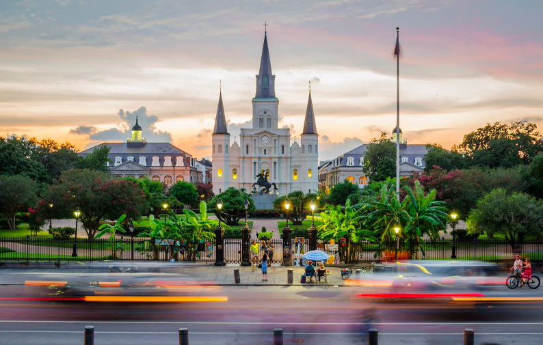 Собор Святого Людовика - Новый Орлеан 1