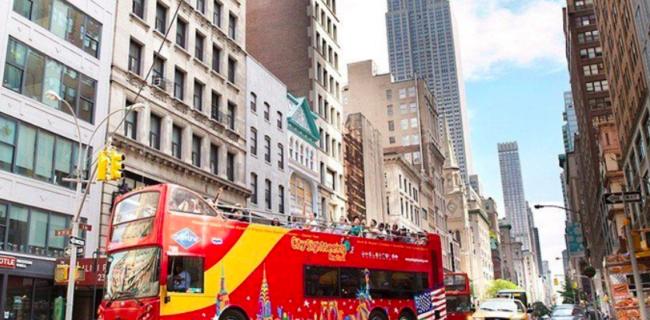 Автобусная экскурсия по Нью-Йорку на русском языке Нижний Манхеттен 1