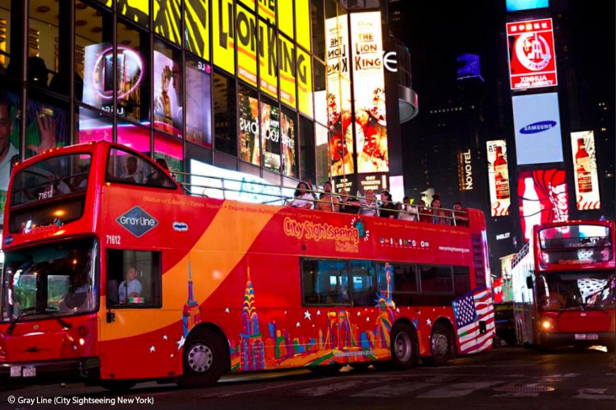 Вечерняя Экскурсия по Нью-Йорку на Автобусе на Русском Языке