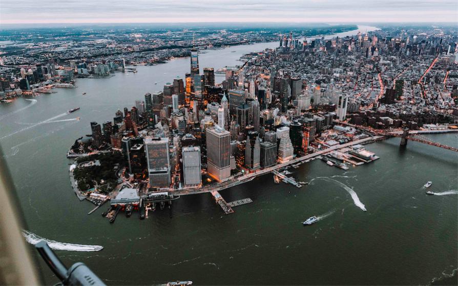 Вертолет - Нью-Йорк | Вертолетные экскурсии в Нью-Йорке