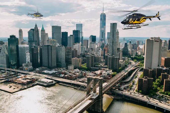 Вертолетный тур без дверей в нью-йорке -30 мин-2