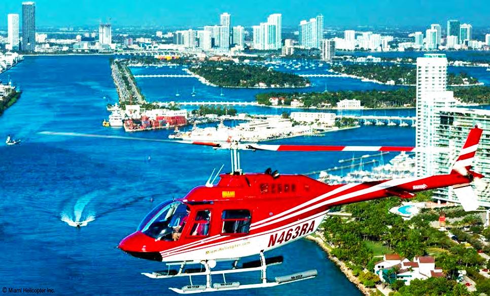 Вертолет в Майами | Вертолетные экскурсии в городе Майами 1