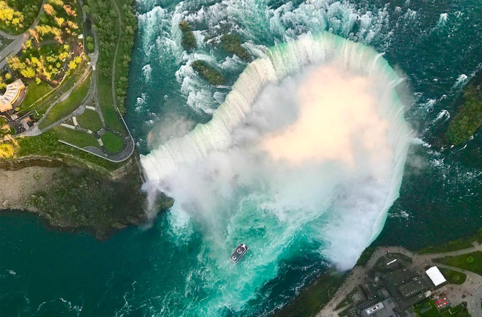 Экскурсия из Нью-Йорка на Ниагарские Водопады на русском языке