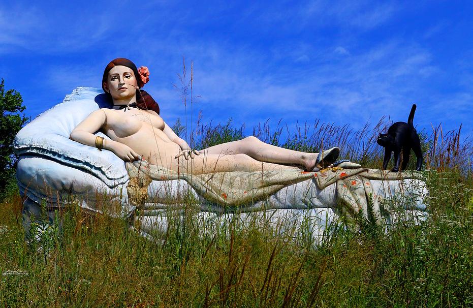 Сад Оживших Картин Ground For Sculpture - Экскурсия из Нью-Йорка 1