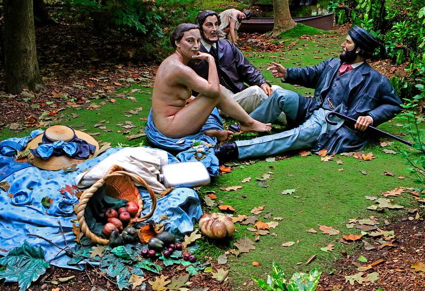 Сад Оживших Картин Ground For Sculpture - Экскурсия из Нью-Йорка 2