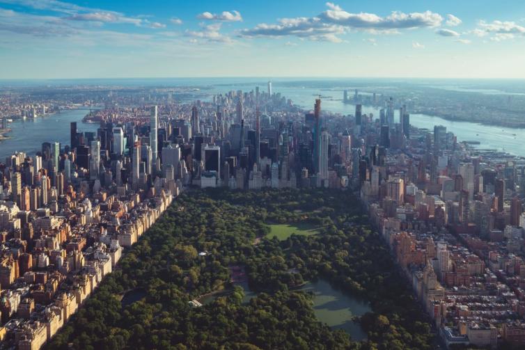 Вертолетный тур в Нью-Йорке, на вертолете без дверей 2