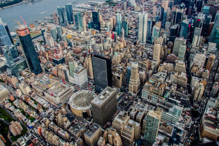 Вертолетный тур в Нью-Йорке, на вертолете без дверей 4