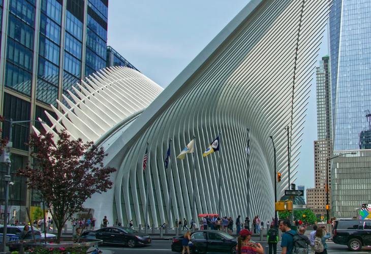 Окулус Нью-Йорк Всемирный Торговый Центр 1