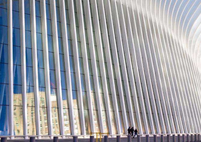 Окулус Нью-Йорк Всемирный Торговый Центр 3