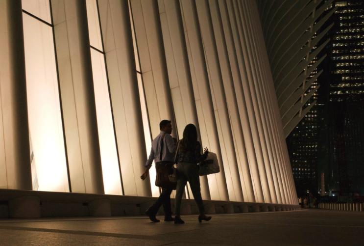 Окулус Нью-Йорк Всемирный Торговый Центр 4