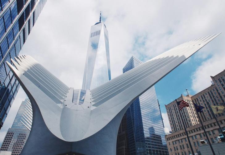 Окулус Нью-Йорк Всемирный Торговый Центр 5