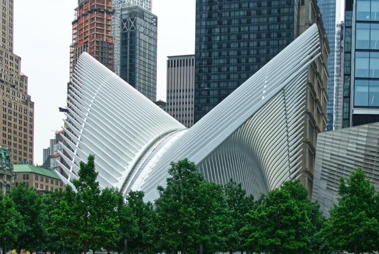 Окулус Нью-Йорк Всемирный Торговый Центр